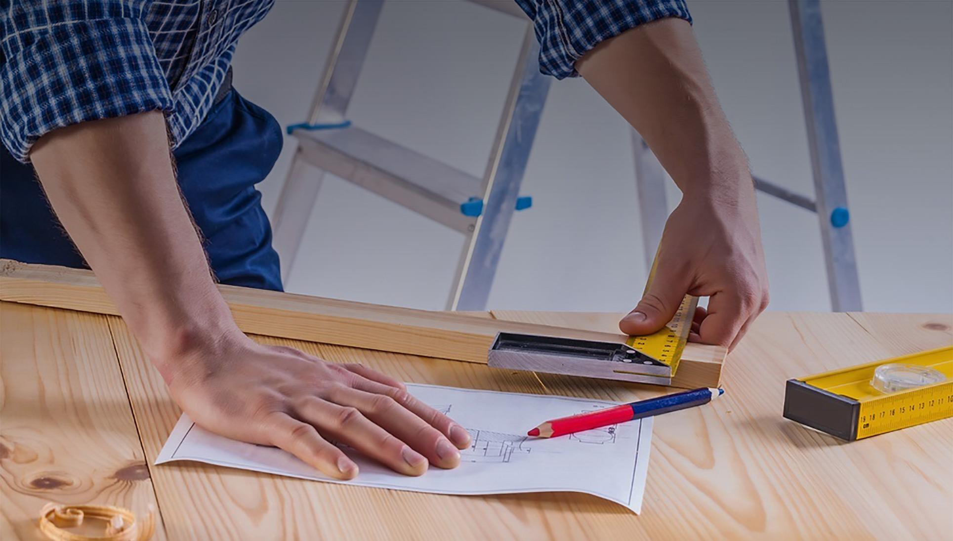 Obras em casa com qualidade superior